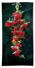 Pyracantha Berries - Do Not Eat Beach Towel