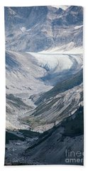 Queen Inlet Glacier Beach Towel