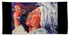Queen Of Soul Beach Sheet