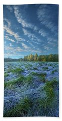 Beach Towel featuring the photograph Quiet Grace by Phil Koch