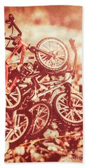Racing Competition Beach Towel