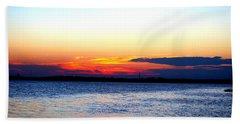Radiant Sunset Beach Towel