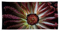 Radicchio Burst Beach Towel