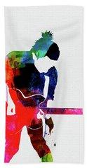 Radiohead Watercolor Beach Towel