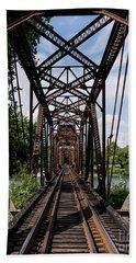 Railroad Bridge 6th Street Augusta Ga 1 Beach Sheet
