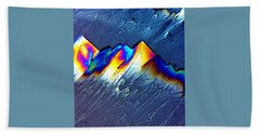 Rainbow Mountains Beach Towel