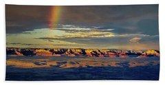 Rainbow Over Sedona Beach Towel
