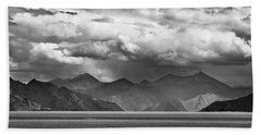 Beach Towel featuring the photograph Rains In China by Whitney Goodey