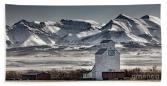 Ranchland Elevator Beach Towel