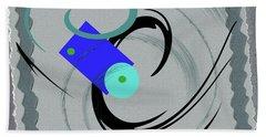 Randomness Variations 5, On Paper Montage Beach Towel
