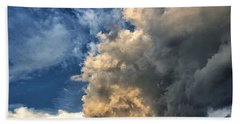 Beach Towel featuring the photograph Reaching Toward Heaven by Andrea Platt