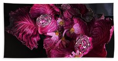 Red Cone Cabbage Beach Towel
