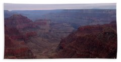 Red Grand Canyon Beach Towel