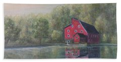 Red Mill Clinton New Jersey Beach Towel