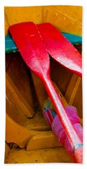 Red Oars Beach Towel