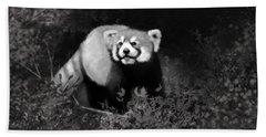 Beach Sheet featuring the digital art Red Panda by Angela Murdock