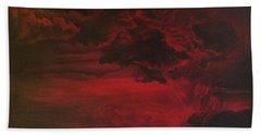 Red Storm Beach Sheet