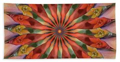 Red Velvet Quillineum Beach Towel