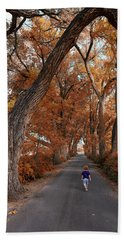 Redhead Fall Walkabout Beach Towel
