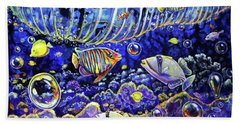 Reef Break Beach Towel