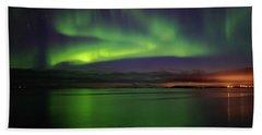 Reflected Aurora Beach Sheet