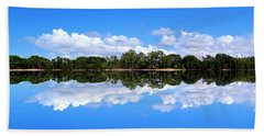 Reflective Lake Patricia Beach Towel
