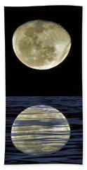 Reflective Moon Beach Towel