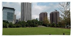 Richmond Cityscape Beach Towel