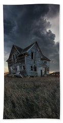 Beach Towel featuring the photograph Right Where It Belongs by Aaron J Groen