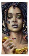 Rihanna Is Medusa Series 1 Beach Sheet