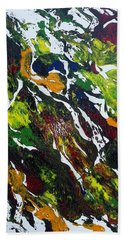 Rivers And Valleys Beach Towel