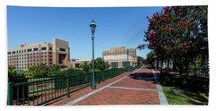 Riverwalk Downtown Augusta Ga Beach Towel