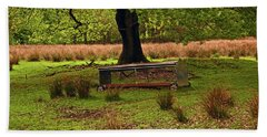 Rivington. Terraced Gardens. Feeding Trough. Beach Towel