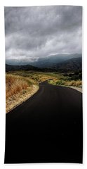 Beach Towel featuring the photograph Road To Mt. Boney by John Rodrigues