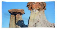 Rock Formation Beach Towel