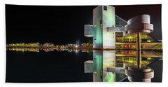 Rock Hall Reflections  Beach Towel