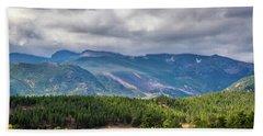 Rockies - Clouds Beach Towel