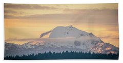 Rocky Cathedrals That Reach To The Sky Beach Towel