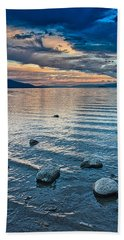 Rocky Lake Vista Beach Towel