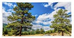 Rocky Mountain Highway Beach Sheet