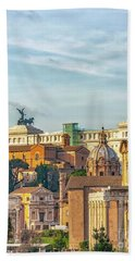 Rome Alter Of The Fatherland Beach Towel