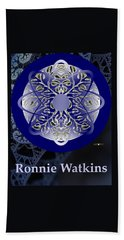 Ronnie Watkins Soul Portrait Beach Towel