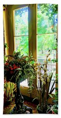 Beach Towel featuring the photograph Room With A View by Joan Reese