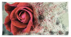 Rose Disbursement Beach Towel