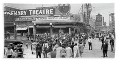 Rosemary Theater Santa Monica Beach Towel