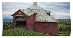 Round Barn - Mansonville, Quebec Beach Sheet