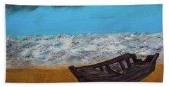 Row Your Boat Beach Towel
