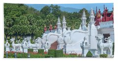 Royal Park Rajapruek Grand Pavilion Stairway Guardians Dthcm2607 Beach Sheet