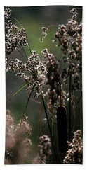 Rushes And Cattails 7g Beach Towel