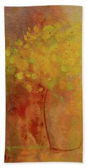 Beach Towel featuring the painting Rustic Still Life by Valerie Anne Kelly